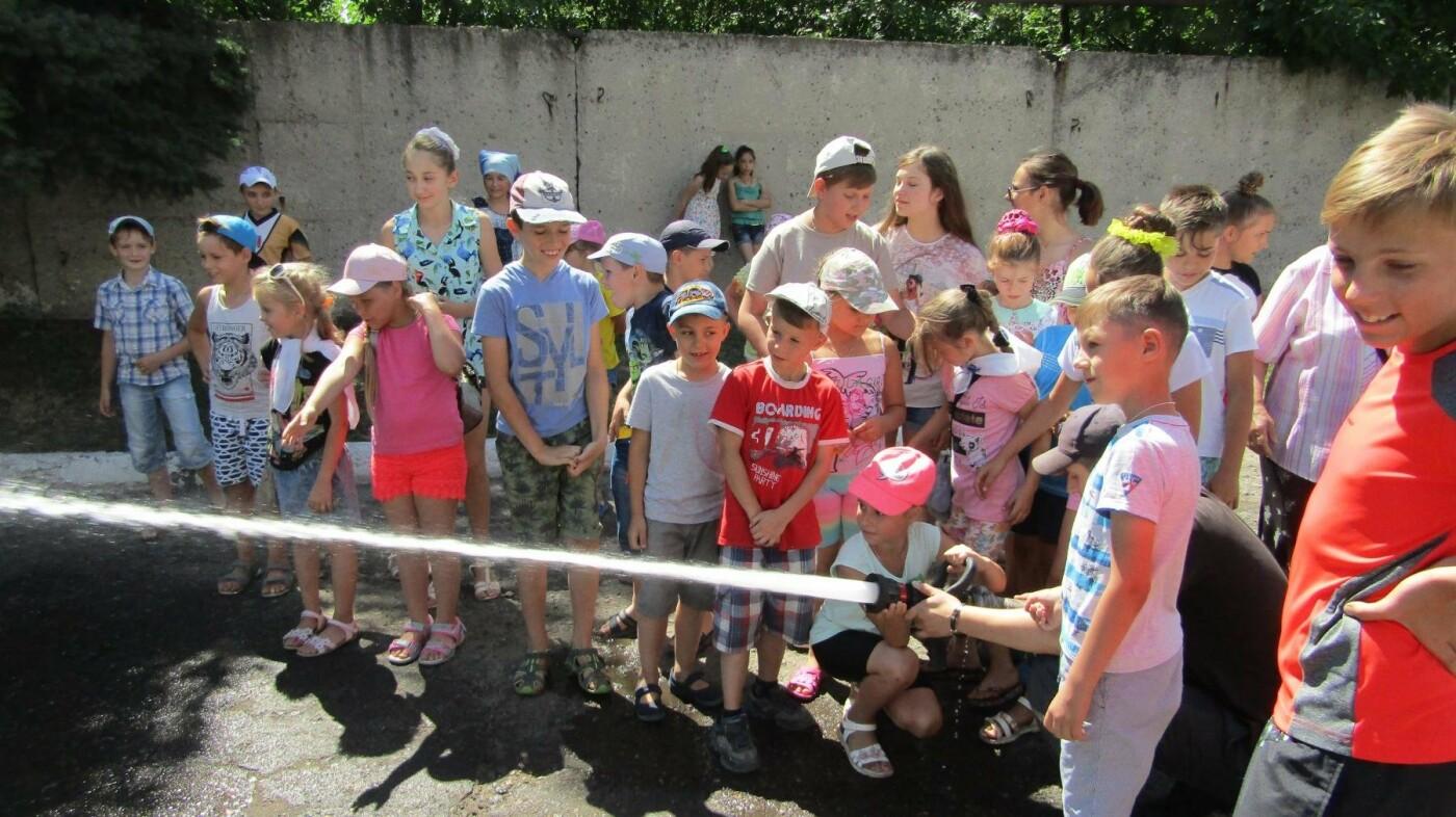 Екскурсія до пожежної частини Костянтинівки, фото-5