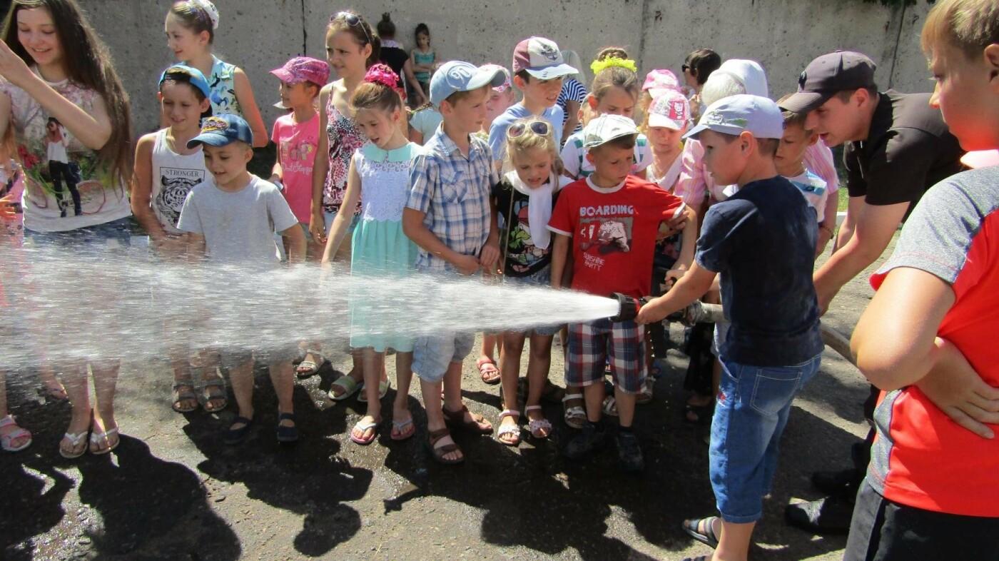 Екскурсія до пожежної частини Костянтинівки, фото-2