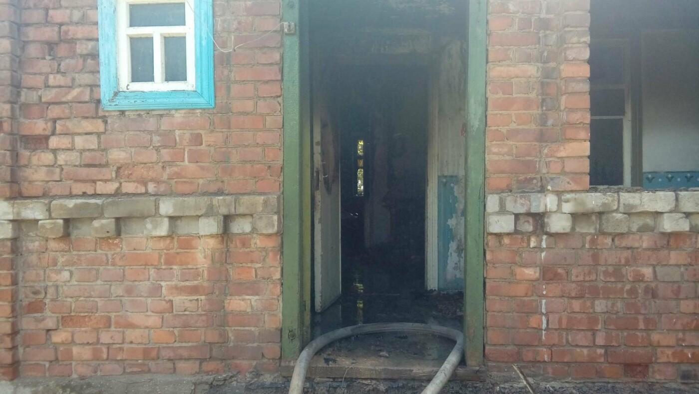 В Константиновке произошел пожар в частном доме, фото-3