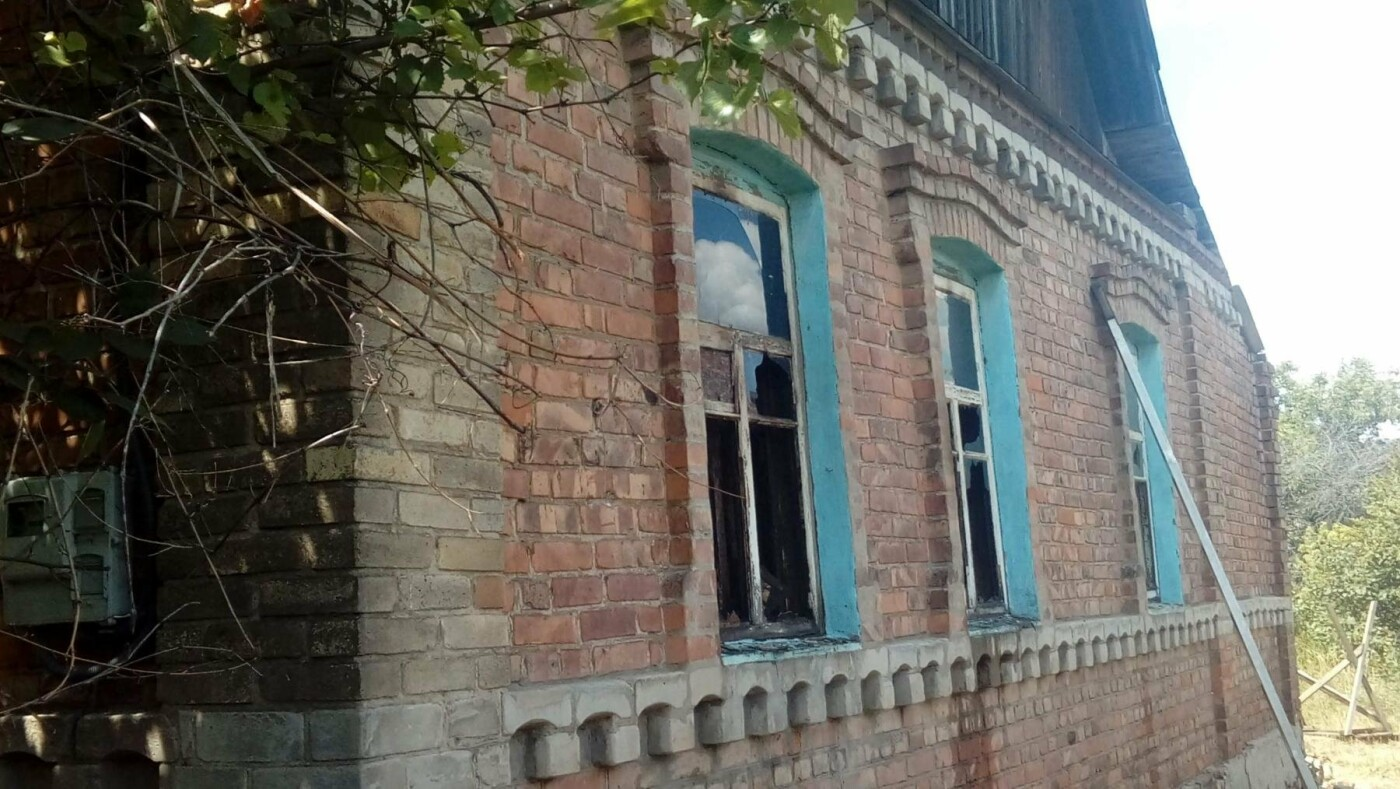 В Константиновке произошел пожар в частном доме, фото-5