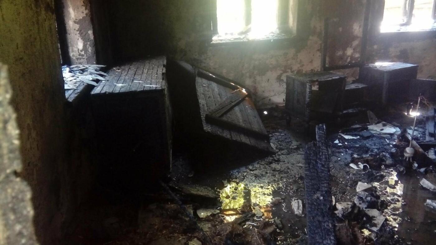 В Константиновке произошел пожар в частном доме, фото-4