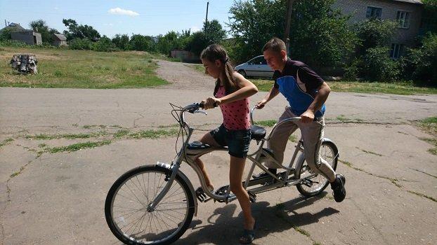 У Константинівському районі незрячі люди зможуть їздити на велосипеді, фото-3