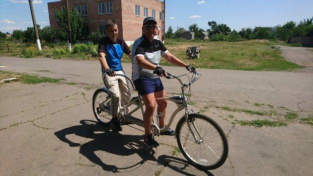 У Константинівському районі незрячі люди зможуть їздити на велосипеді, фото-1