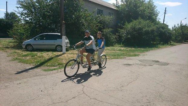 У Константинівському районі незрячі люди зможуть їздити на велосипеді, фото-2