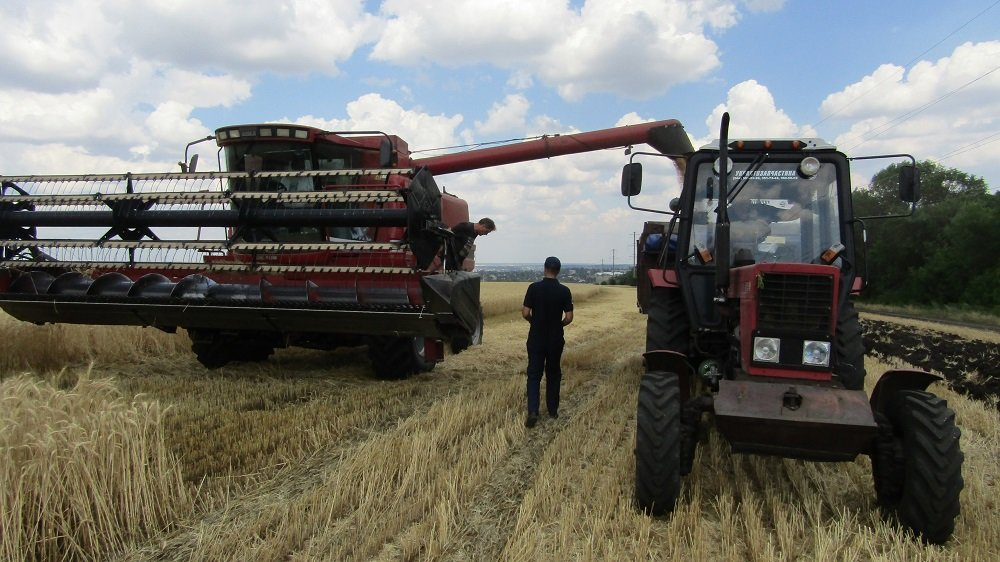 Константиновские спасатели провели информационные беседы с земледельцами , фото-2