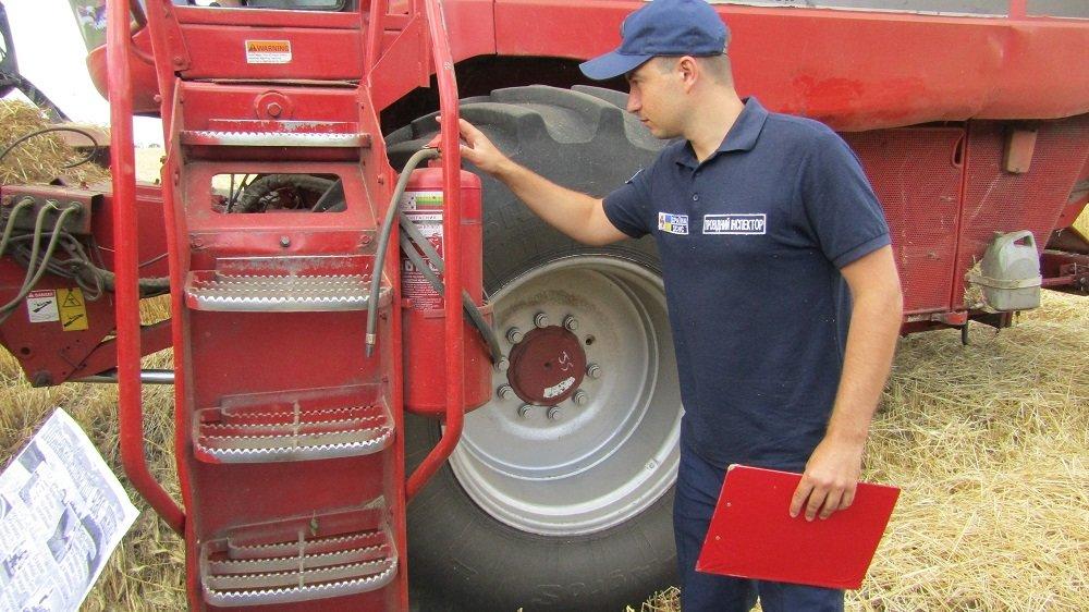 Константиновские спасатели провели информационные беседы с земледельцами , фото-4