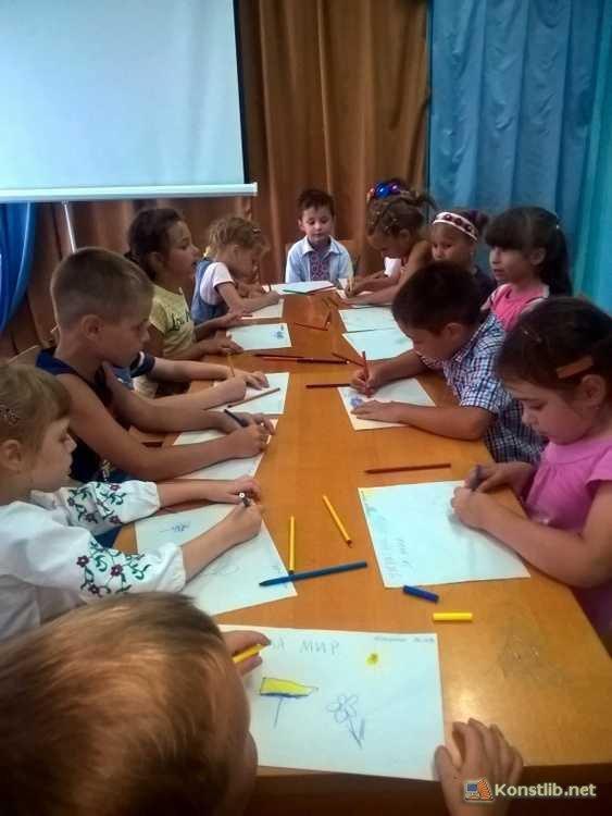 У Костянтинівській бібліотеці пройшла акція «Ми хочемо миру в нашій країні!», фото-2