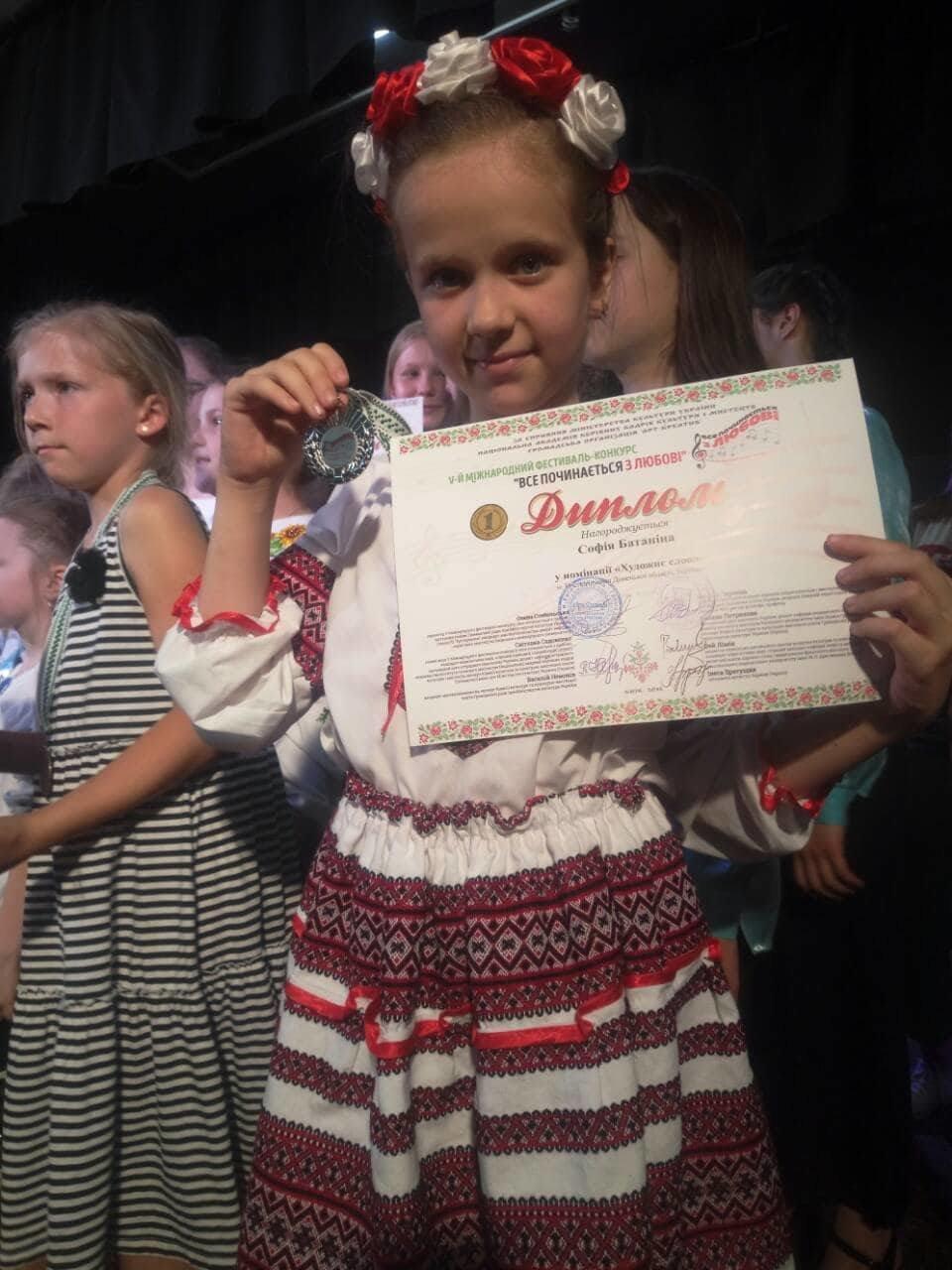 Батанина София из Константиновки – будущая актриса, фото-5