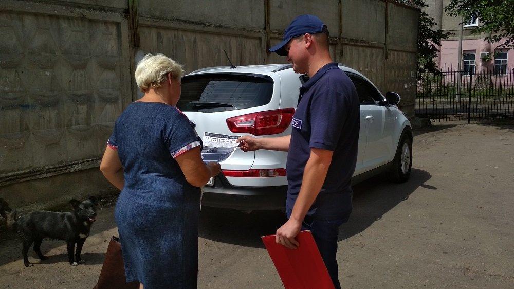 Константиновские спасатели напомнили горожанам о правилах пожарной безопасности, фото-3