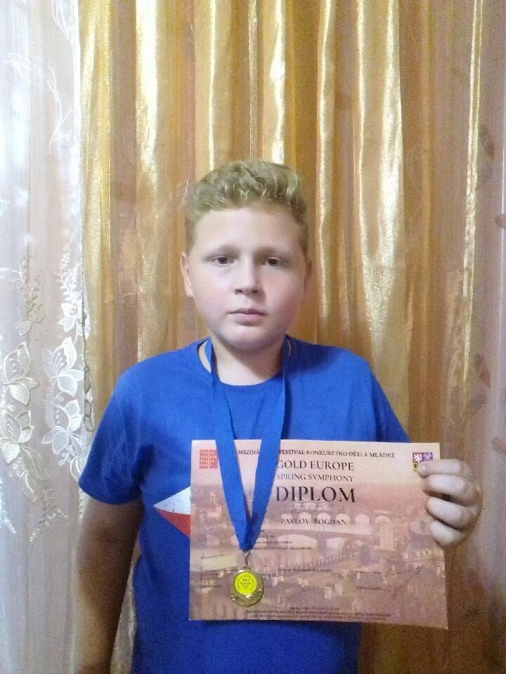 Павлов Богдан из Константиновки привез  домой золотую медаль из Чехии, фото-4
