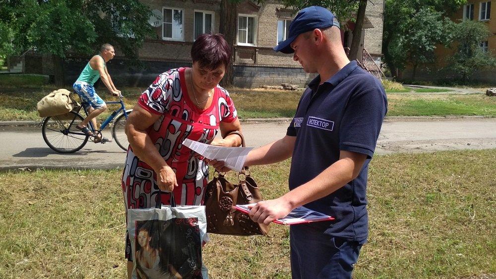 Константиновские спасатели напомнили горожанам о правилах пожарной безопасности, фото-5