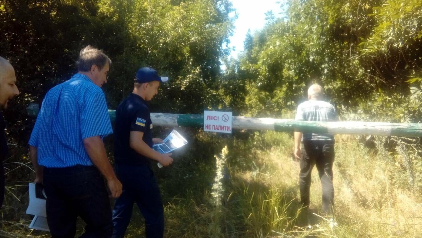 Константиновские спасатели провели рейд в лесах района, фото-2