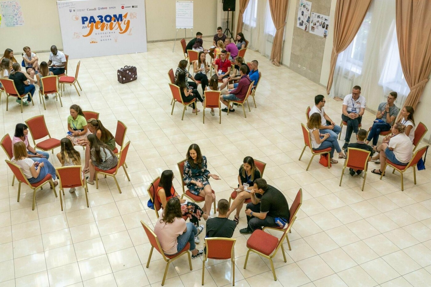 Студент из Константиновки провел неделю в Молодежной летней школе «Вместе к успеху», фото-8