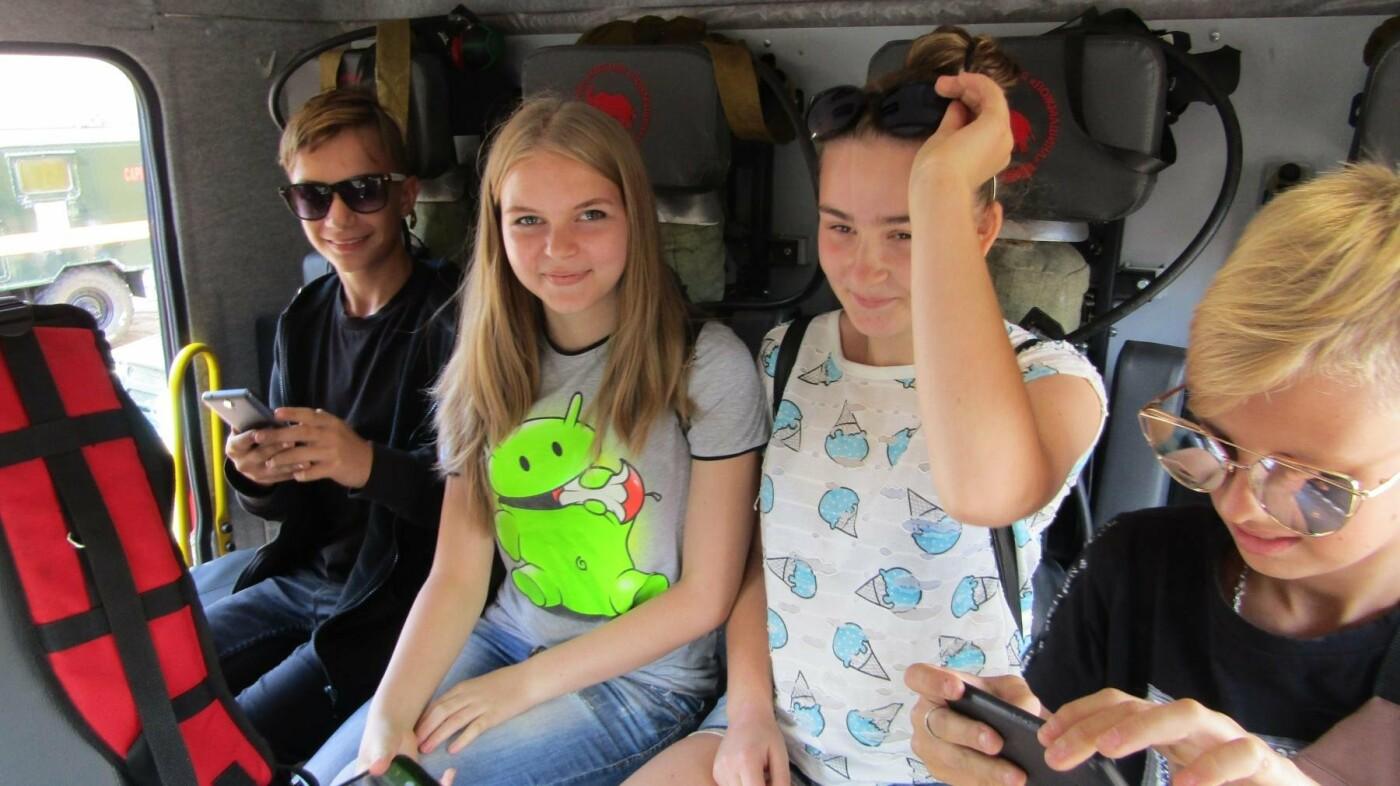 Восьмикласники Іллінівської школи відвідали пожежну частину Костянтинівки, фото-2