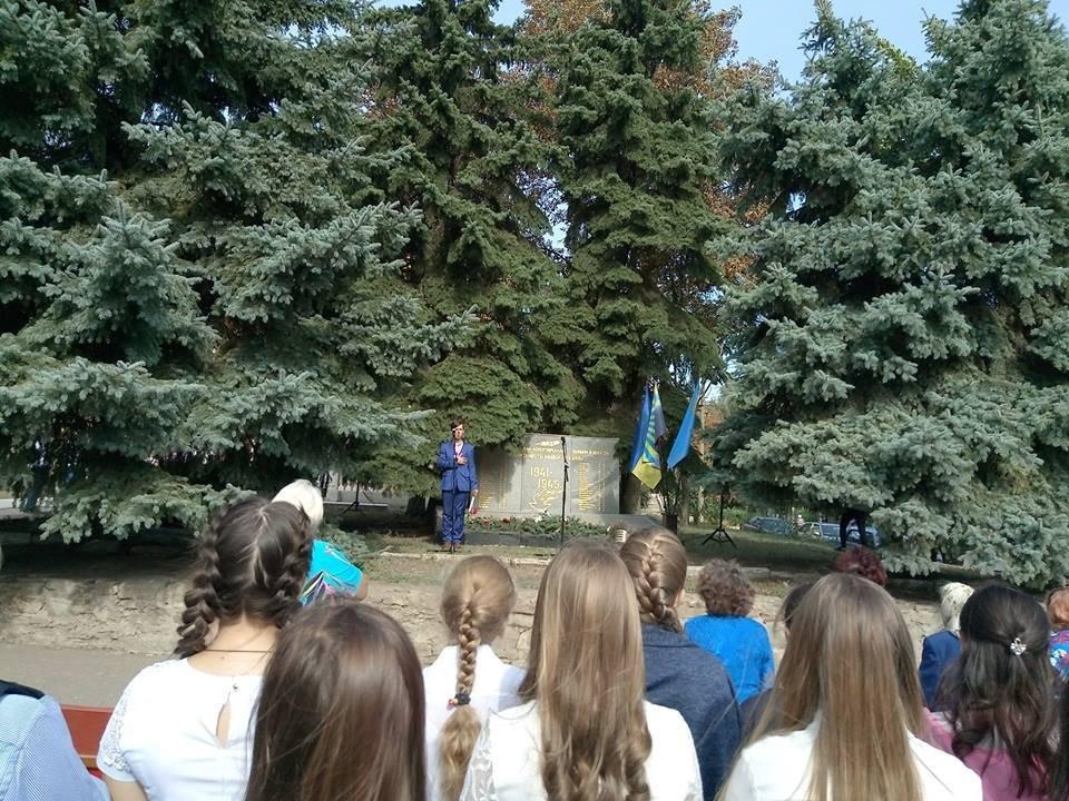 У Костянтинівському районі провели мітинг-реквієм «Крізь дим, і біль, і біди», фото-2