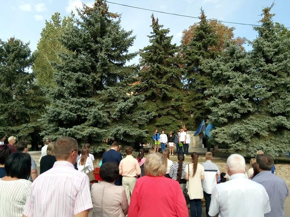 У Костянтинівському районі провели мітинг-реквієм «Крізь дим, і біль, і біди», фото-3