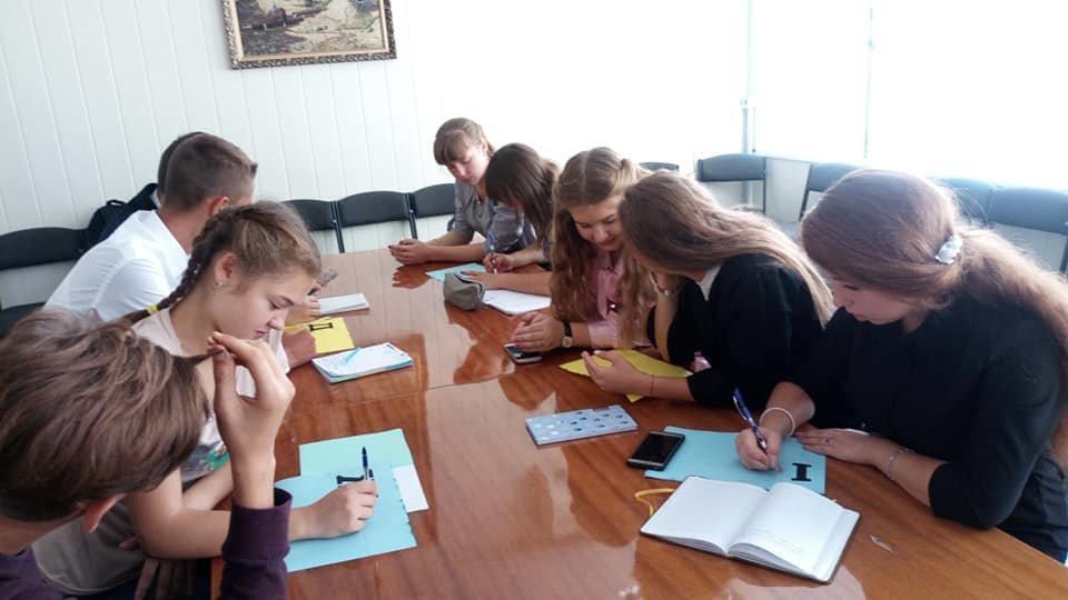 У «Школі лідерів» Костянтинівського району обрали новий склад ради школярів , фото-3