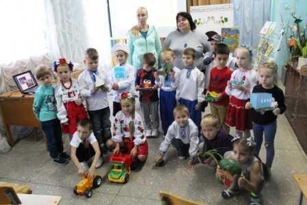 У Костянтинівській бібліотеці провели для дітей свято хліба , фото-3
