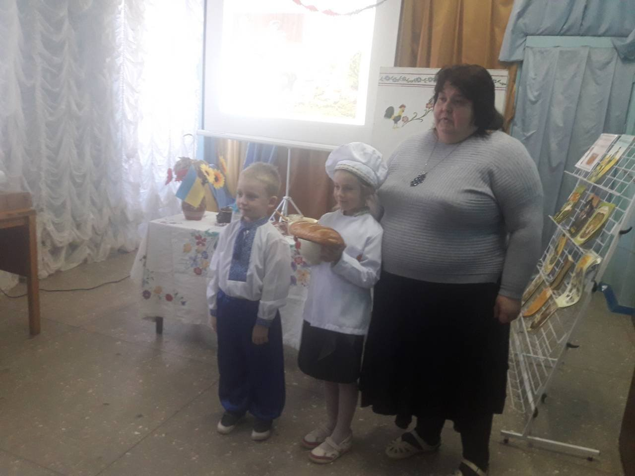 У Костянтинівській бібліотеці провели для дітей свято хліба , фото-8