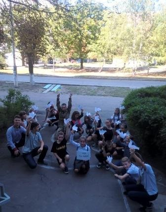 В Костянтинівській бібліотеці провели флешмоб до Дня миру, фото-2