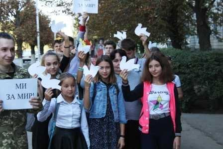 В Костянтинівській бібліотеці провели флешмоб до Дня миру, фото-4