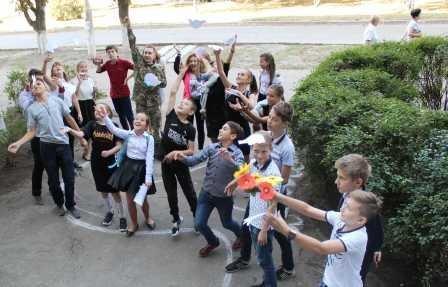 В Костянтинівській бібліотеці провели флешмоб до Дня миру, фото-5