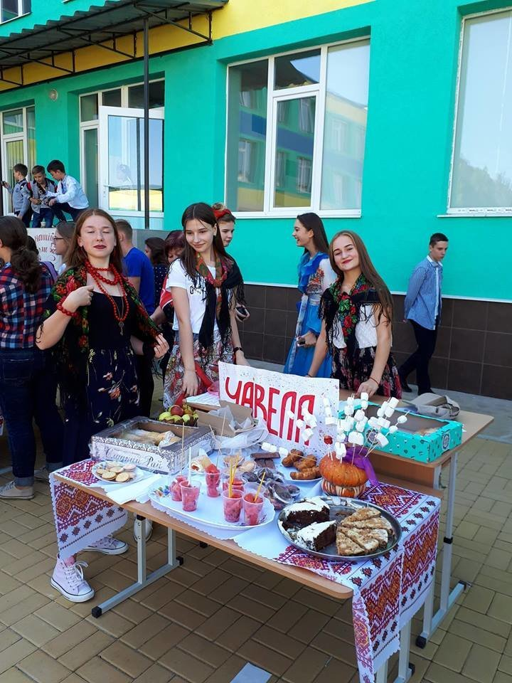 Шкільний ярмарок у Костянтинівській школі , фото-6