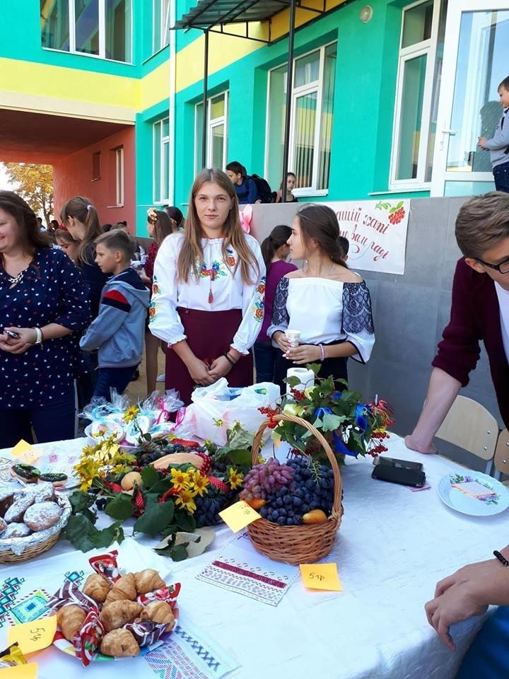 Шкільний ярмарок у Костянтинівській школі , фото-4