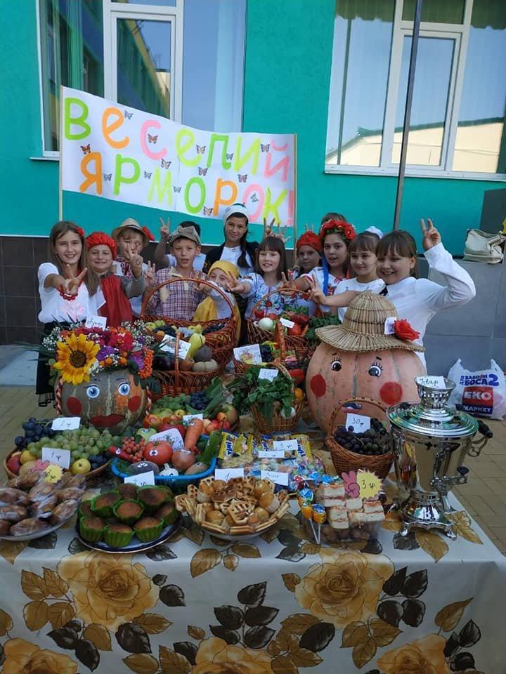 Шкільний ярмарок у Костянтинівській школі , фото-5
