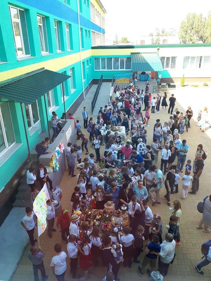 Шкільний ярмарок у Костянтинівській школі , фото-1