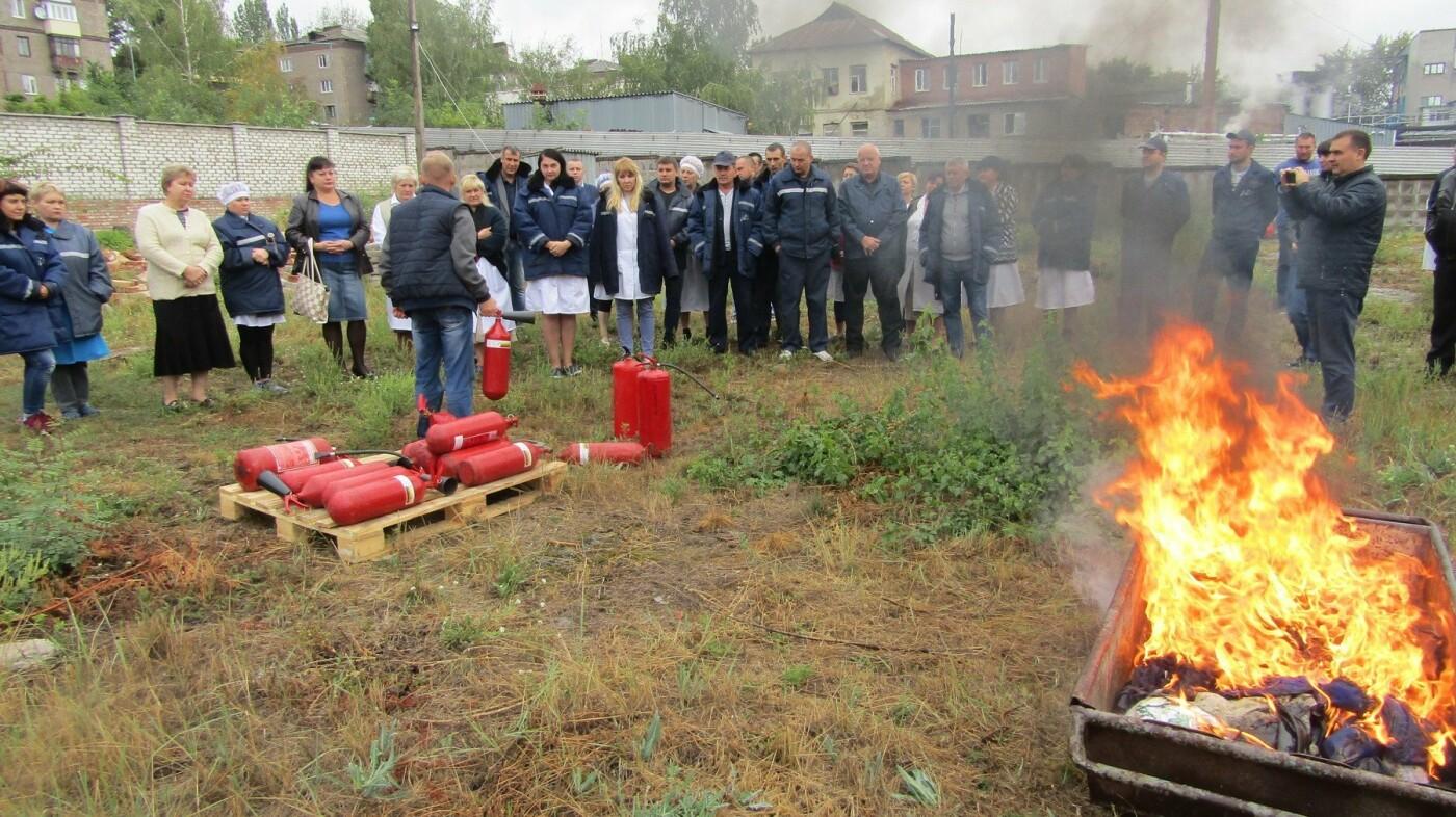 Рятувальники Костянтинівки провели навчання на кондитерській фабриці, фото-1