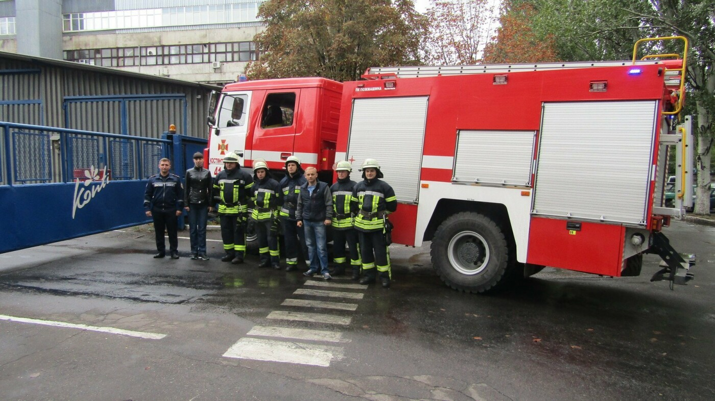 Рятувальники Костянтинівки провели навчання на кондитерській фабриці, фото-4