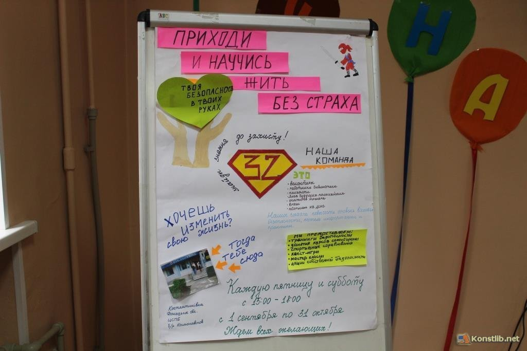 Дев'ятикласниця із Костянтинівки презентувала проект «Школа волонтерів», фото-2