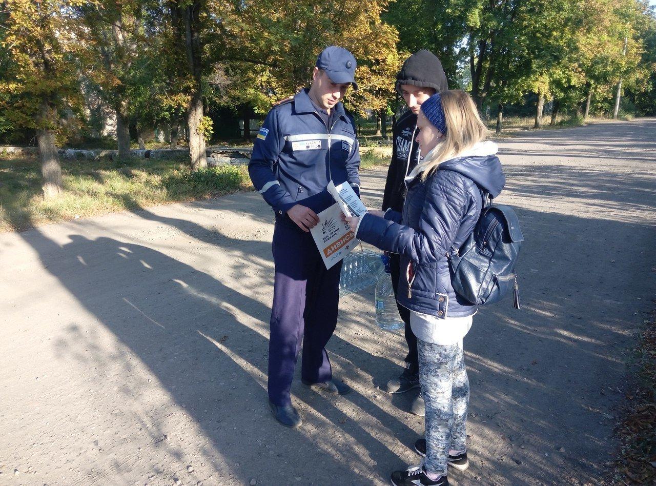 Рятувальники Костянтинівки розказали місцянам про вибухонебезпечні предмети, фото-2