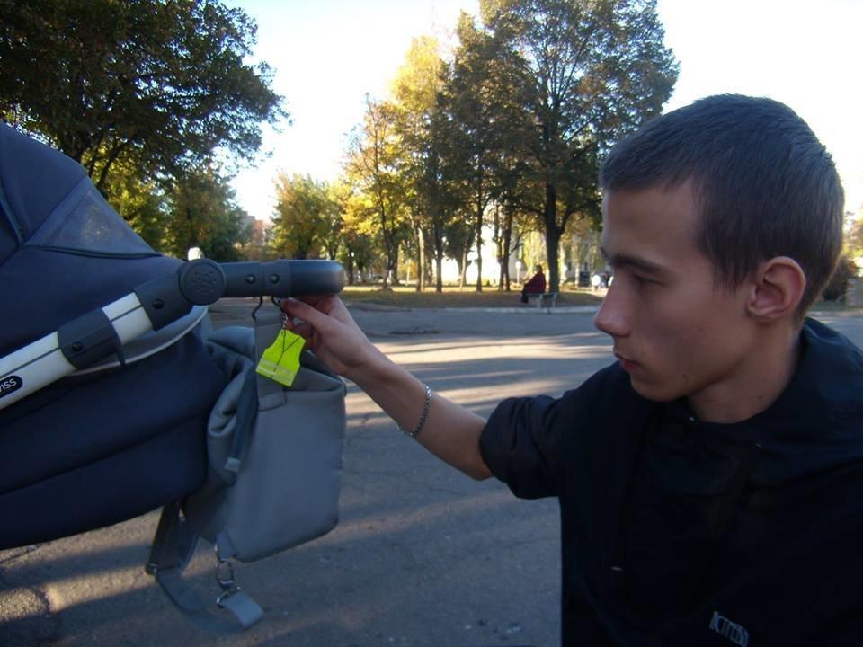 """""""Лігівці"""" Костянтинівки дбають про безпеку дітей на дорозі, фото-2"""