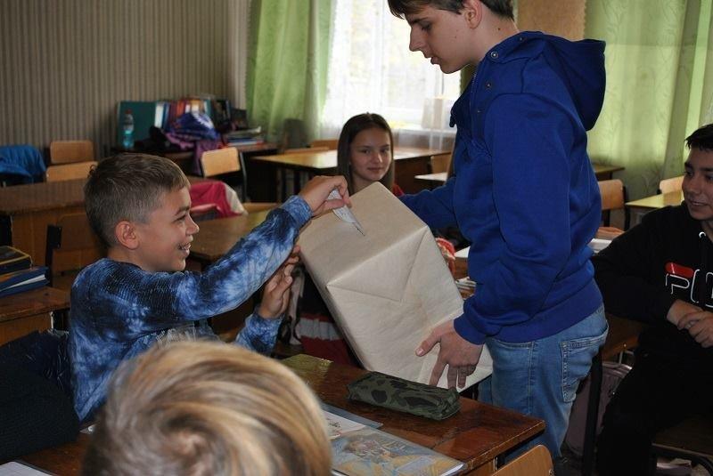 В одній із шкіл Костянтинівки обрали президента, фото-6