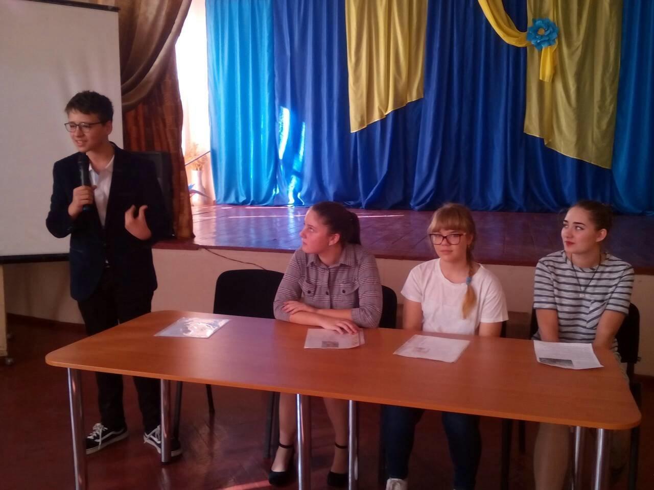 В одній із шкіл Костянтинівки обрали президента, фото-1