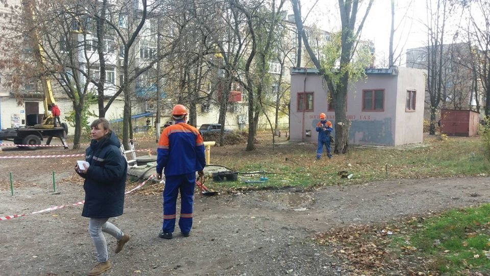 В Константиновке провели учения для аварийно-диспетчерской службы «Горгаз», фото-1