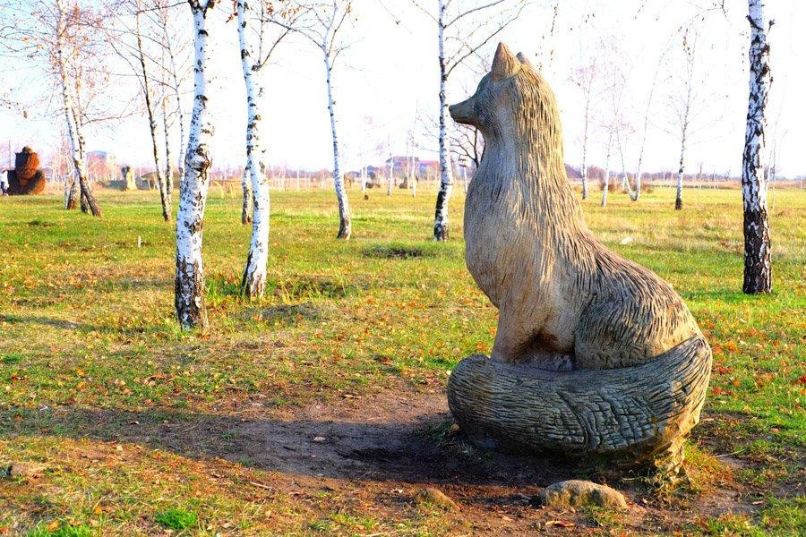 Куда поехать на выходные. Дружковский каток и парк каменных скульптур, фото-8