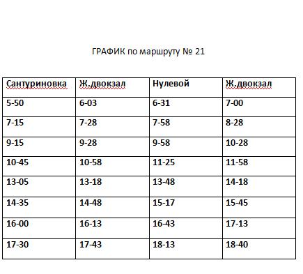 Расписание движения автобусов в Константиновке, фото-8