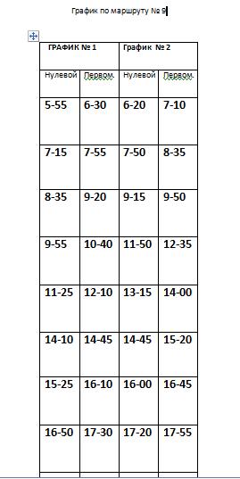 Расписание движения автобусов в Константиновке, фото-9