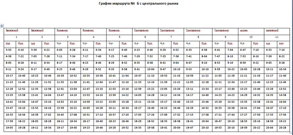 Расписание движения автобусов в Константиновке, фото-11