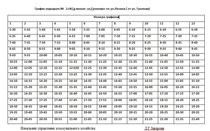 Расписание движения автобусов в Константиновке, фото-10
