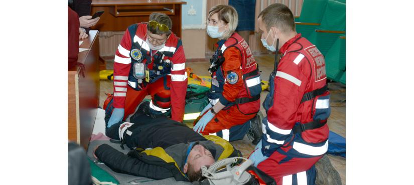 Константиновские медики приняли участие в областном чемпионате бригад экстренной медицинской помощи, фото-2