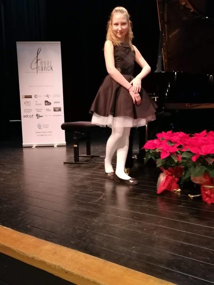 Диана Стогнушенко из Константиновки привезла награду с международного конкурса пианистов, фото-2