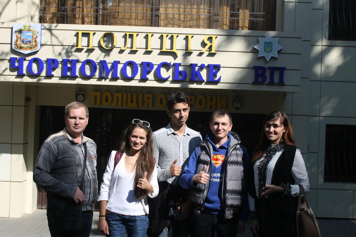 Как полиция и общественность Черноморска вместе делают свой город безопаснее, фото-9
