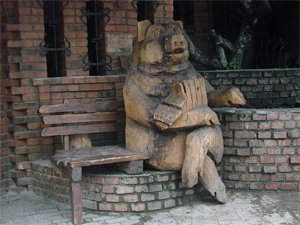 Пам'ятники свиням та поросятам в Україні, фото-9