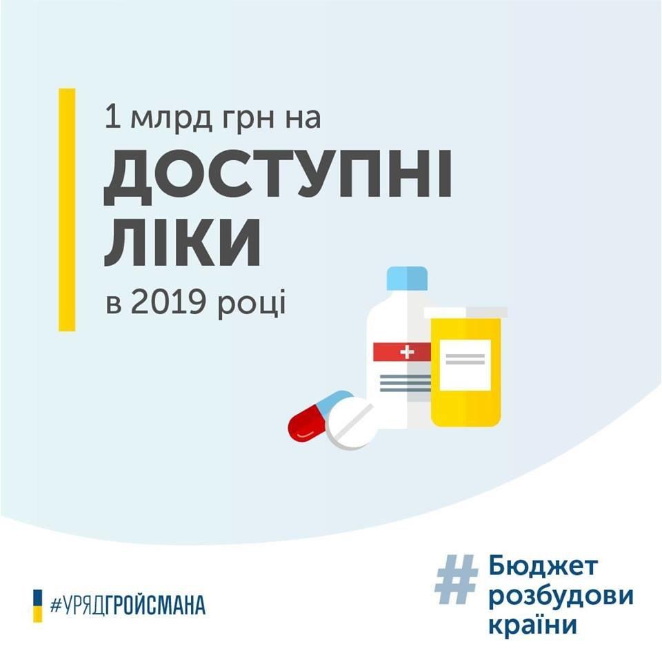 """До програми """"Доступні ліки"""" додадуть нову послугу -Володимир Гройсман, фото-1"""