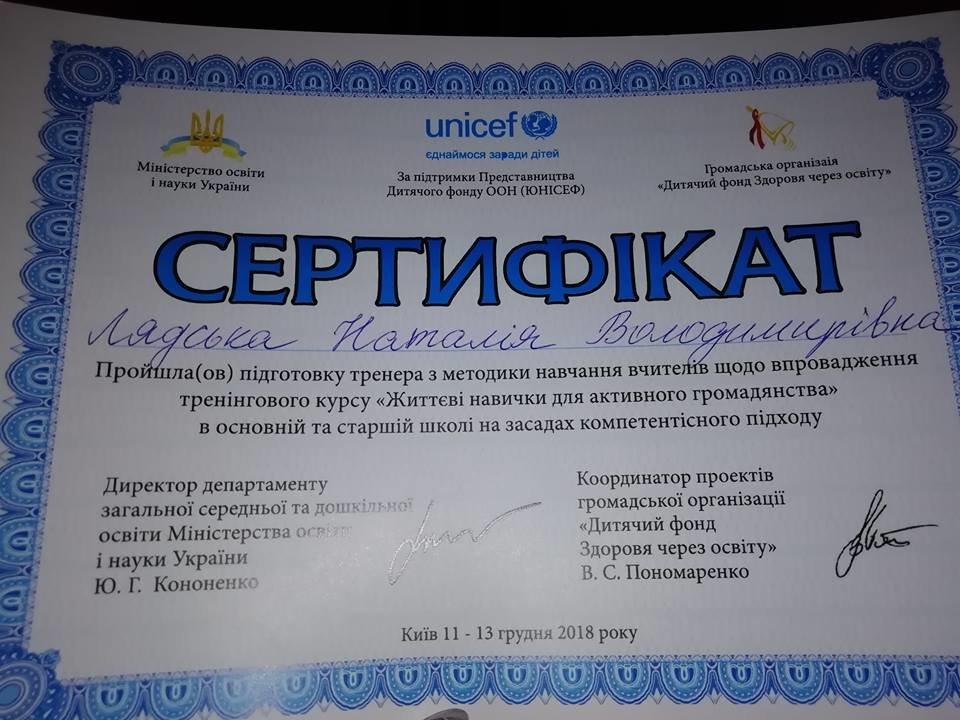 Учителі Костянтинівки взяли участь в тренінгу «Життєві навички для активного громадянства», фото-1