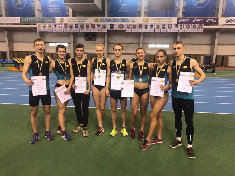 Константиновские атлеты привезли 5 медалей с чемпионата Украины, фото-1
